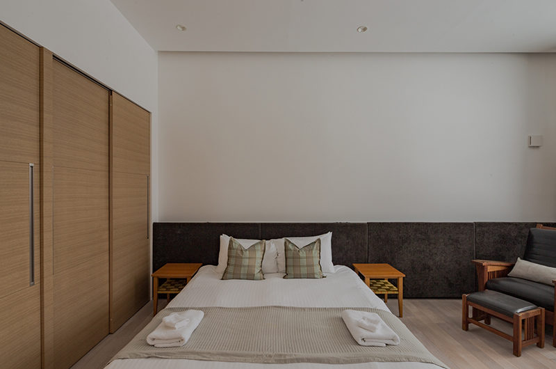 Yanagi House Bedroom with Seating Area | West Hirafu
