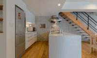 Kitanishi Two Kitchen near Up Stairs with Wooden Floor | Middle Hirafu