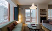 Kitanishi Two Living Area | Middle Hirafu