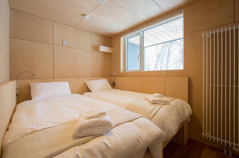 Yorokobi Lodge Twin Bedroom | West Hirafu