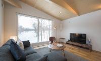 Yorokobi Lodge TV Room | West Hirafu