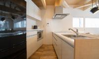 Yorokobi Lodge Kitchen Area | West Hirafu
