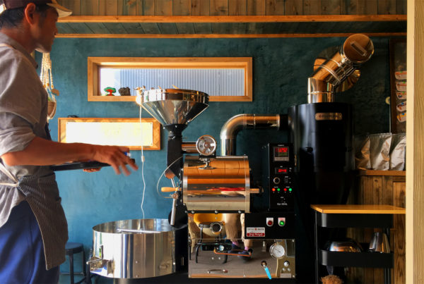 Niseko Kutchan Sprout Outdoor Espresso Coffee Yoshi Roasting Beans