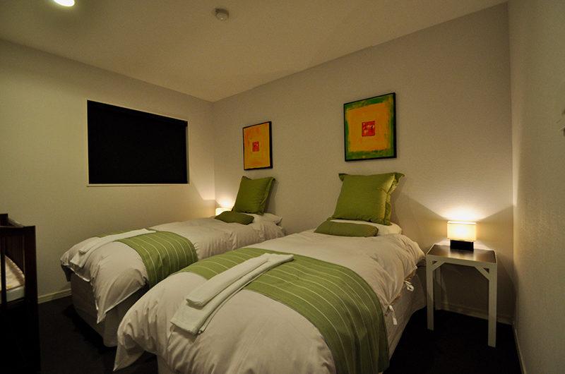 Altitude Hakuba Bedroom with Twin Beds | Upper Wadano
