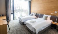 The Kamui Niseko Twin Bedroom with Study Table | Annupuri