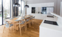 The Kamui Niseko Modular Kitchen and Dining Area | Annupuri