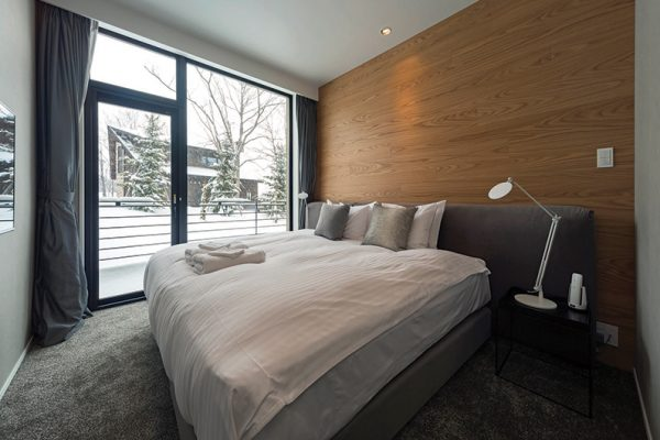 The Kamui Niseko King Size Bed with Outdoor View | Annupuri