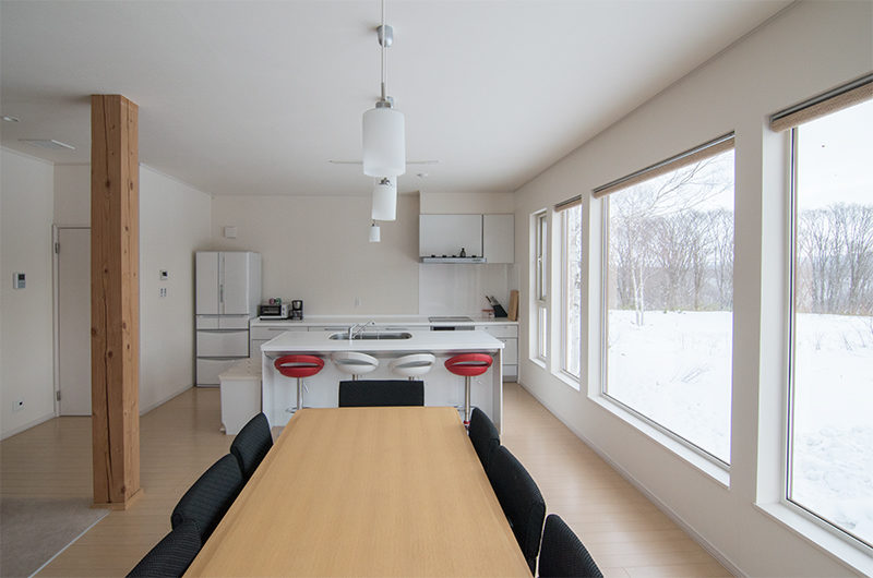 Chalet Billopp Dining Kitchen Area | Lower Hirafu