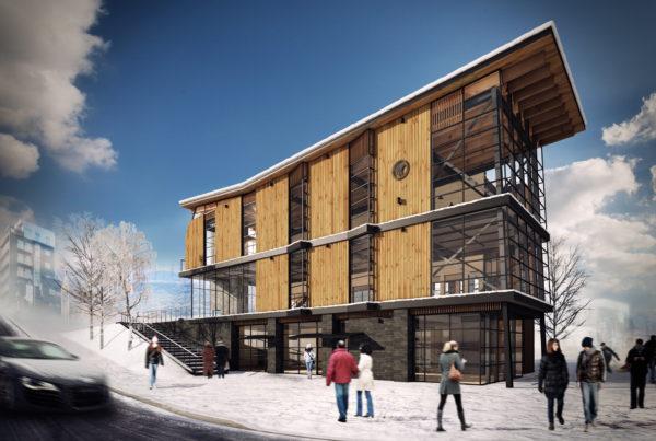 Niseko Odin Place Building