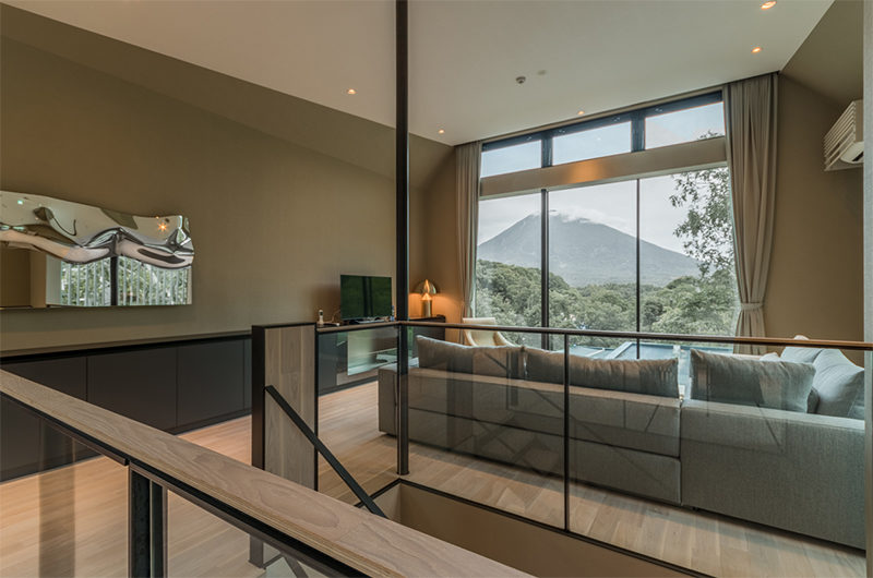 Boheme Living Area with TV | Lower Hirafu Village