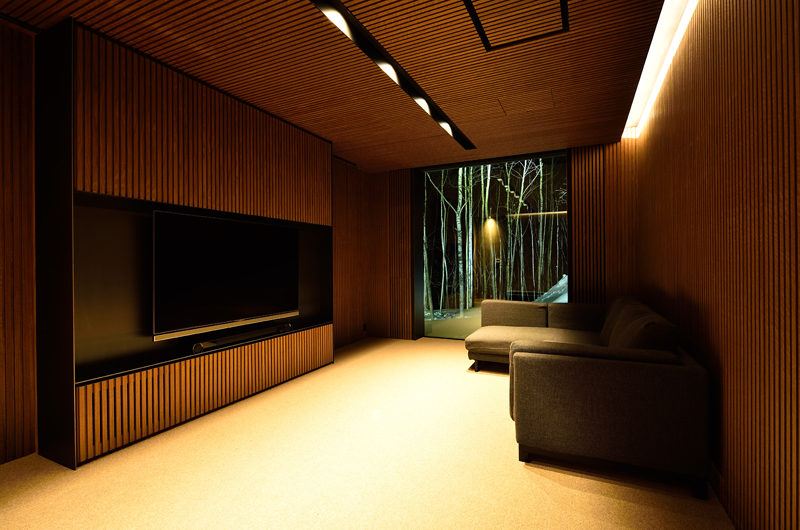 Mukashi Mukashi TV Room | Middle Hirafu