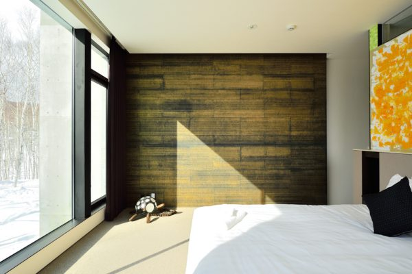 Mukashi Mukashi Bedroom with Outdoor View | Middle Hirafu