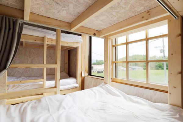 Niseko Nature Bunk Beds with Carpet | Lower Hirafu