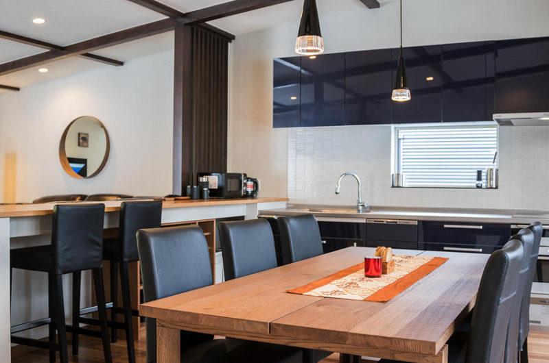 Zangetsu Kitchen and Dining Area | Lower Hirafu