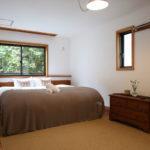 Momiji Hakuba Bedroom with Wooden Floor | Hakuba Village