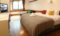 Momiji Hakuba Bedroom with TV | Hakuba Village