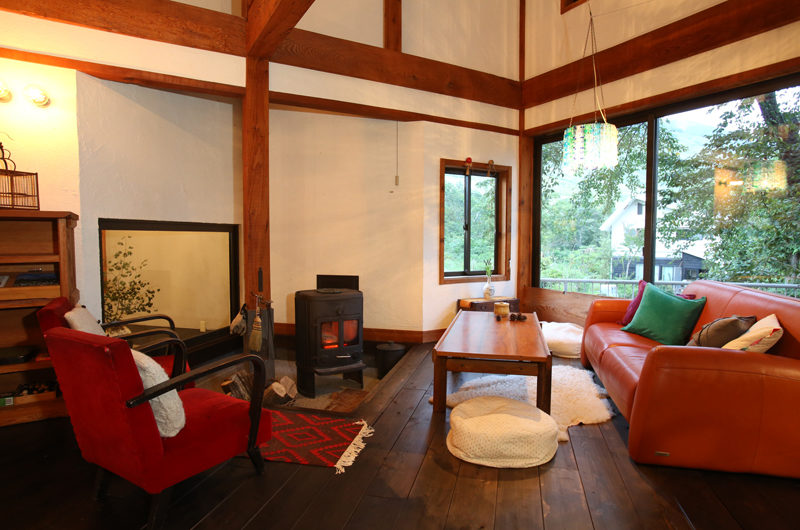 Momiji Hakuba Family Area with Wooden Floor | Hakuba Village