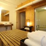 Momiji Hakuba En-Suite His and Hers Bathroom | Hakuba Village