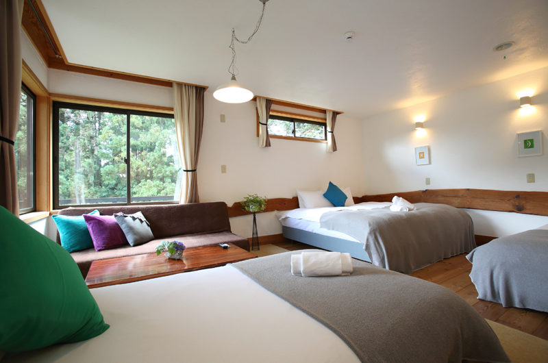 Momiji Hakuba Triple Bedroom | Hakuba Village