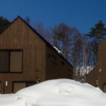 Gakuto Villas Exterior with Snow | Hakuba Valley