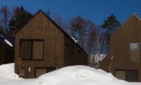 Gakuto Villas Exterior with Snow | Hakuba Valley