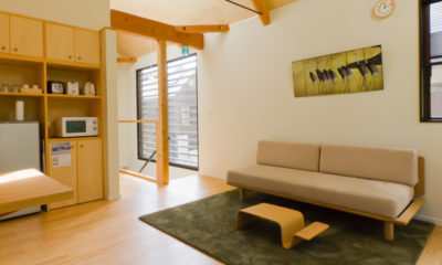 Gakuto Villas Kitchen Area | Hakuba Valley