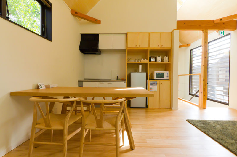 Gakuto Villas Kitchen and Dining Area | Hakuba Valley