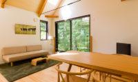 Gakuto Villas Dining Area | Hakuba Valley