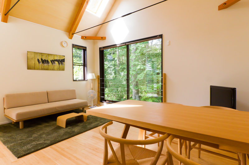 Gakuto Villas Dining Area | Hakuba Valley