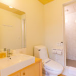 Gakuto Villas Bathroom with Shower | Hakuba Valley