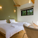 Gakuto Villas Twin Bedroom with Sofa | Hakuba Valley