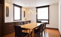 Kokoro Dining Area with Wooden Floor | East Hirafu