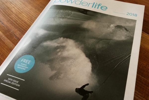 Powderlife Cover Tsutomu Nakata 07-2000