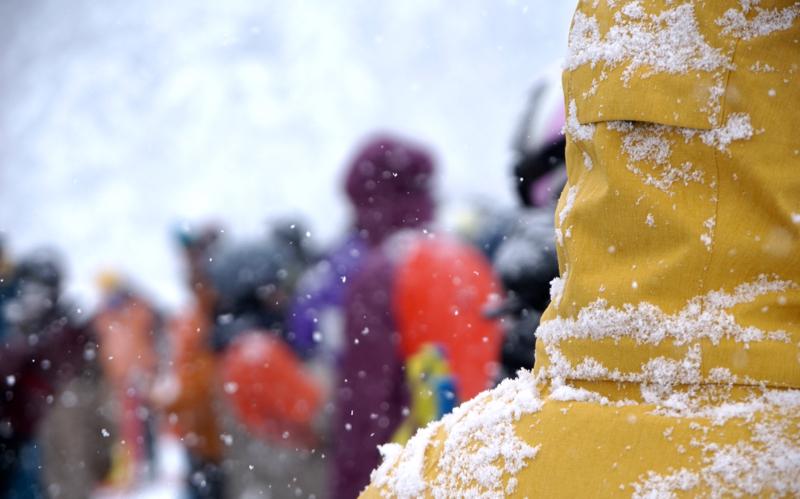 Snow covers Niseko again!