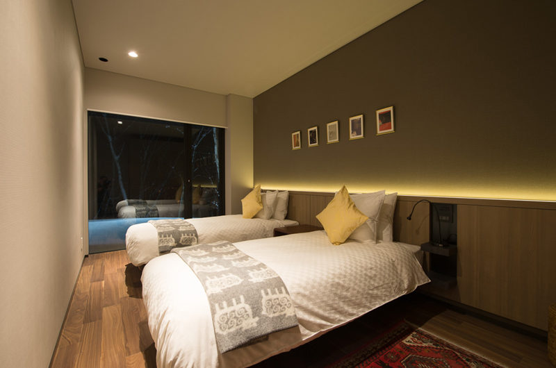 Setsu In Twin Bedroom at Night | Hanazono
