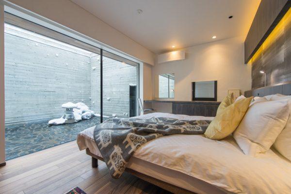 Setsu In Bedroom and Balcony | Hanazono