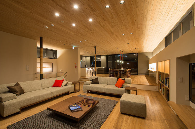 Kazahana Living and Dining Area | Middle Hirafux