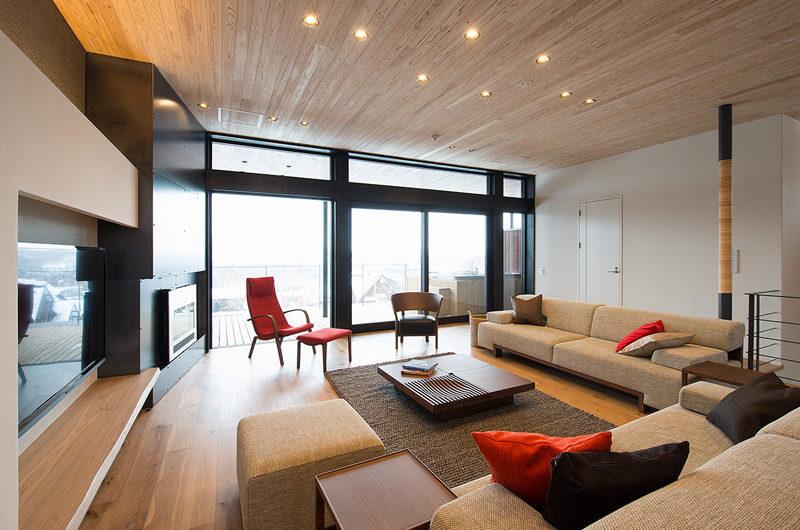 Kazahana Living Area with TV | Middle Hirafux