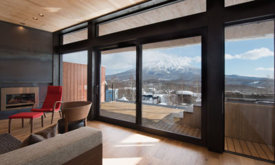 Kazahana Balcony View with Mountain View | Middle Hirafux