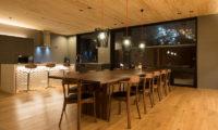 Kazahana Kitchen and Dining Area | Middle Hirafux
