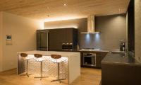 Kazahana Kitchen Area | Middle Hirafux