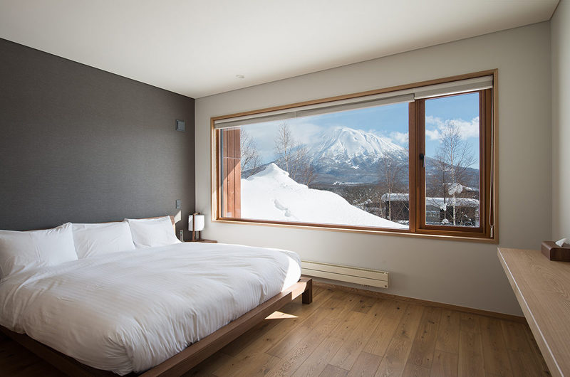 Kazahana Bedroom with Mountain View | Middle Hirafux