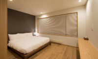 Kazahana Bedroom with Wooden Floor | Middle Hirafux