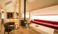 Koho Lounge Room with Wooden Floor | Lower Hirafu