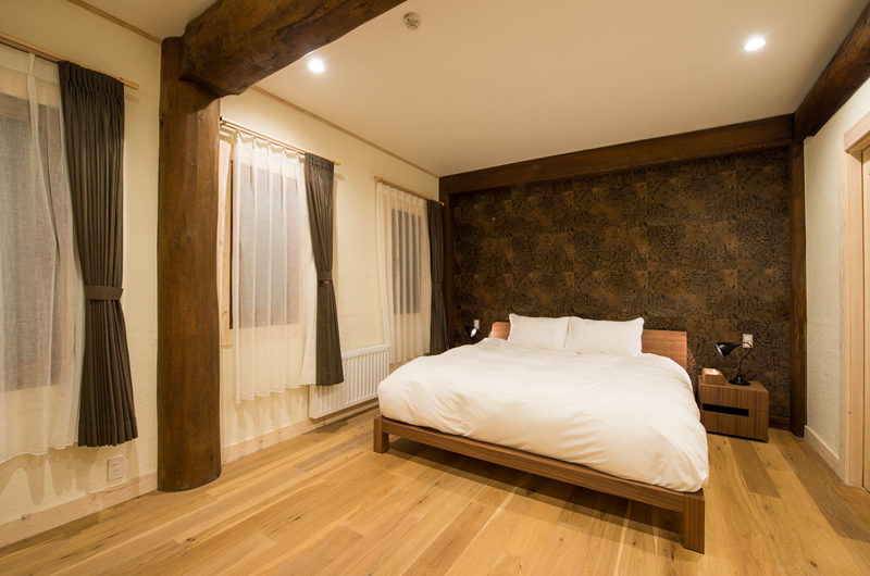 Koho Bedroom with Wooden Floor | Lower Hirafu