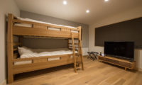 Koho Bunk Beds with TV | Lower Hirafu