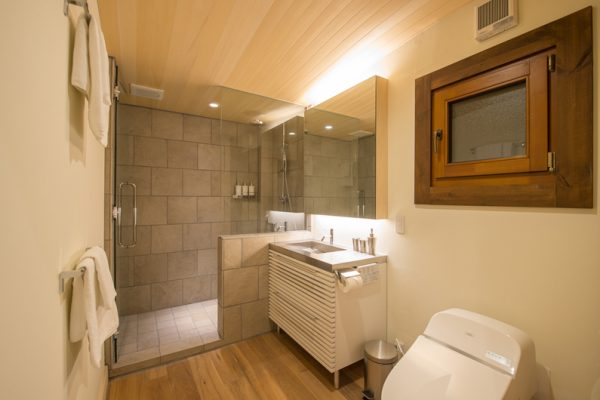 Koho Bathroom with Shower | Lower Hirafu