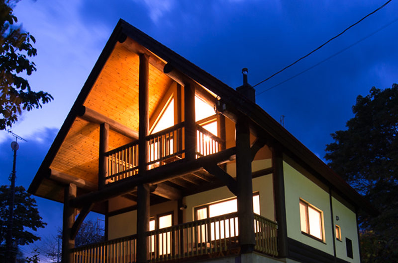 Koho Night View | Lower Hirafu