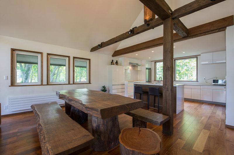 Moiwa Chalet Kitchen and Dining Area | Moiwa