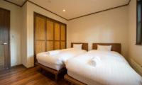 Moiwa Chalet Twin Bedroom | Moiwa
